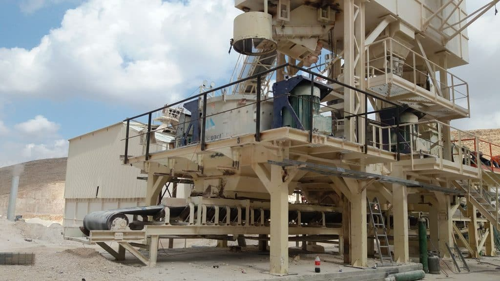 Upgrading of a Crushing Plant - Kohav HaShahar